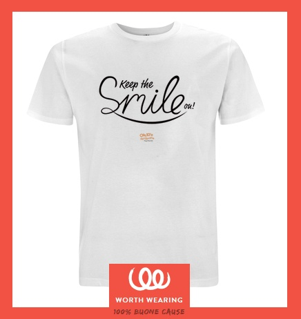 Keep the Smile on! Worth Wearing t-shirt