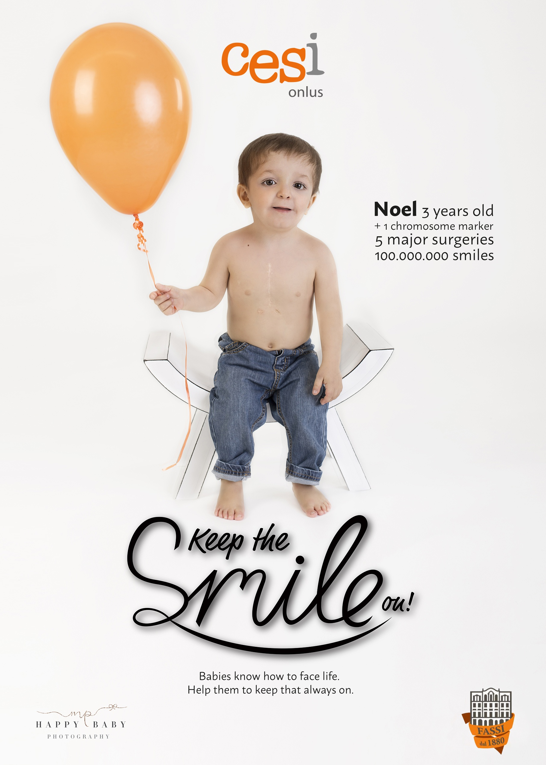 Keep the smile on!